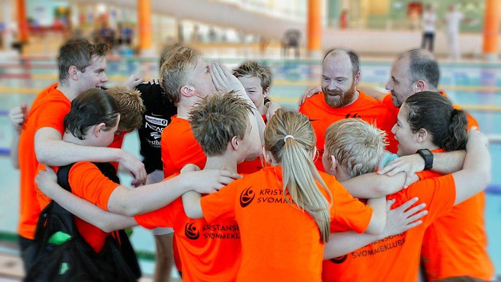Kristiansund svømmeklubb heiarop